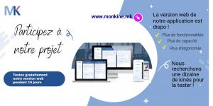 lancement béta de MonKiné web